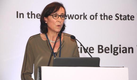 Mrs. Isabelle Pollet, Director Asia-Pacific, AWEX, delivering the closing remarks