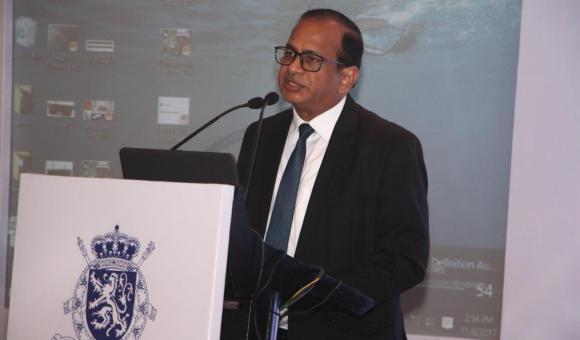 Mr. Ramesh Abhishek, Secretary DIPP, Govt. of India, addressing the audience