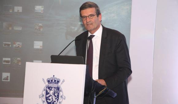 Mr. Bernard Gilliot, President of the Federation of Belgian Companies introducing the Seminar